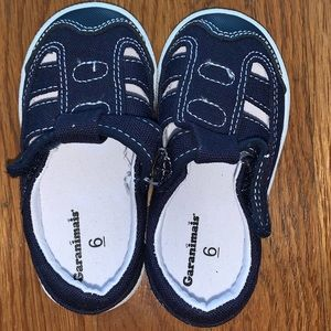 Toddler boys navy blue sandals